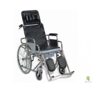 Sc609gc Durable Lightweight Portable Commode Wheelchair
