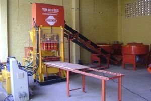 Concrete Brick Making Fully Automatic Machine