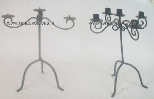 Iron Metal Candle Stand