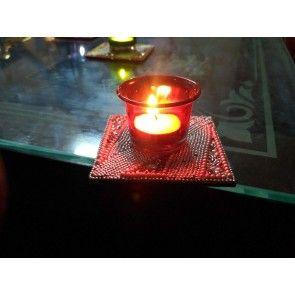 Designer Glass Tealight Holder
