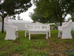Marble Carved Garden Furniture