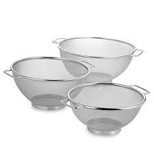 Stainless Steel Strainer Bowl