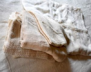 Flax Linen Big Table Cloth