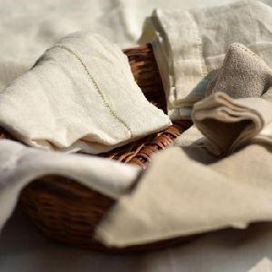 Linen Cotton Hemstitched Napkins
