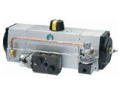 3 Position Rotary Actuator, Double Acting/single Acting 3 Position Mechanical Stopper