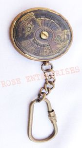 Antique Calendar Key Chain