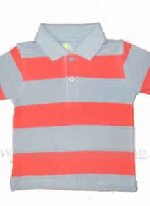 Kids Yarn Dyed Polo T-shirt