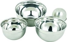 Dinnerware Stainless Steel Shallow Mixing Bowl