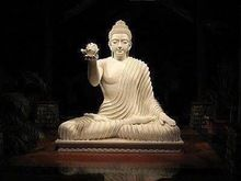 Stone Carving Sculpture Garden Marble Buddha Statue