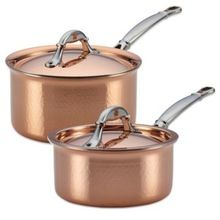 Food Copper Frying Pan