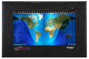 Geochron Digital 4k World Time Clock