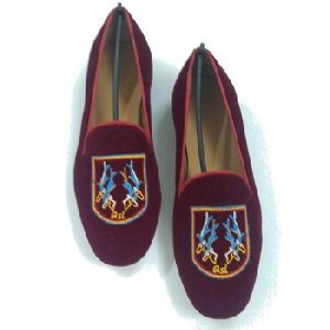Embroidery Tassel Loafer shoes