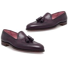 Leather Tassel loafers for Men