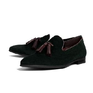 Velvet Tassel Loafer shoes for men