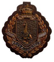 Embroidered Bullion Wire Blazer Badges