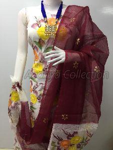 Kota Doria Multicolor Suits