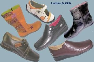 Leather Shoe-for Ladies And Kid