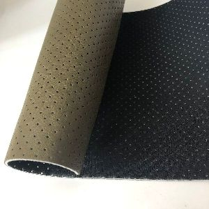 Perforated Suitable Pu Leather Sofa Fabric