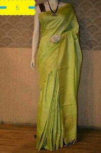 Muga Silk Saree With Silk Mark Tag