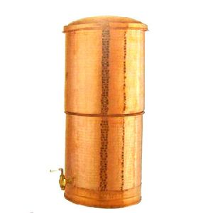Straight Copper Water Dispenser