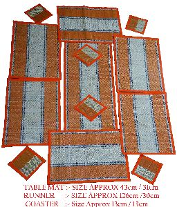 Exclusive Handcrafted Maddur Table Mat