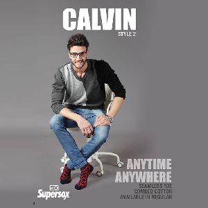 Mens Calvin Seamless Toe Socks