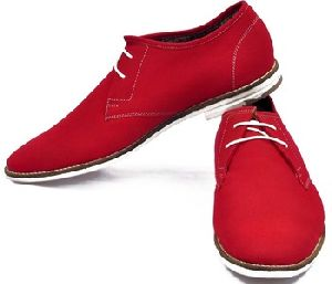 Mens Casual Shoes In Leather ()