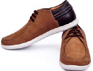 Mens Casual Shoes In Suede Leather