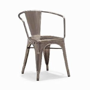 metal cello Dining Chair with arms