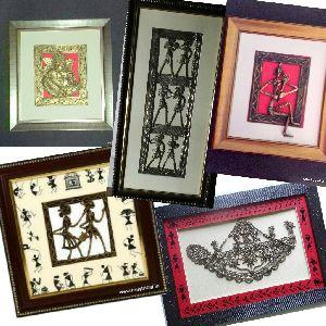 Brass Dhokra Frames