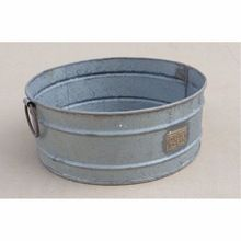 Iron Planter Flower Pot Antique Finish