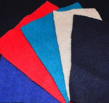 colored merino wool felt