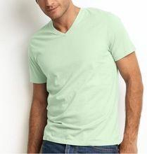 cotton Mens V-neck t-shirts