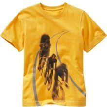 Graphic yellow t-shirt