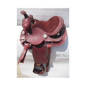 Indian Leather Western Horse Saddle