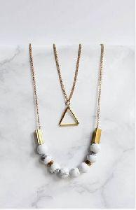 Designer Marble Necklace