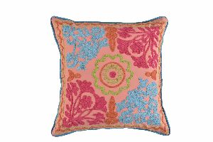 Embroidery Cotton Cushion Cover