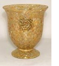 Mosaic Flower Vase Cum Tea Light Holder