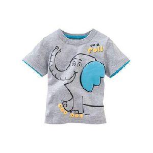 Cotton Custom Printed T Shirt Kids