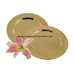 Metal Charger Plate Gold