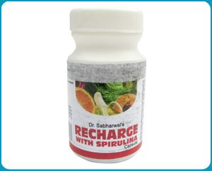 Recharge With Spirulina Capsules