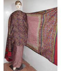 Silk Printed Suit Material