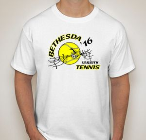 Custom Printed Tennis T-shirts