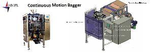Continuous Motion Bagger Machine
