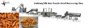 Kurkure And Nik Nak Snacks Food Processing Line Machine