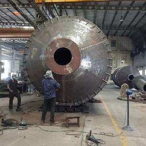 Aluminum Melting Rotary Furnace