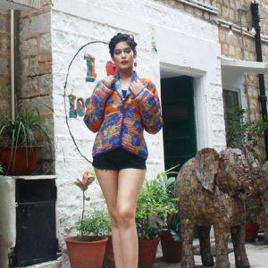 Reversible Kantha Quilt Jacket