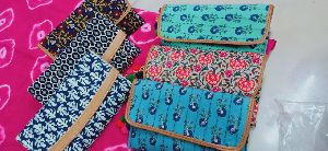 Printed Fabric Hand Clutches