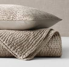 Cotton Quilted Bed Spreads with Matching Pillows