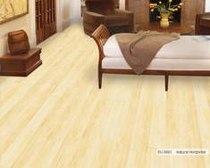Eu 9001 Euro Bamboo Natural Horizontal Wooden Flooring